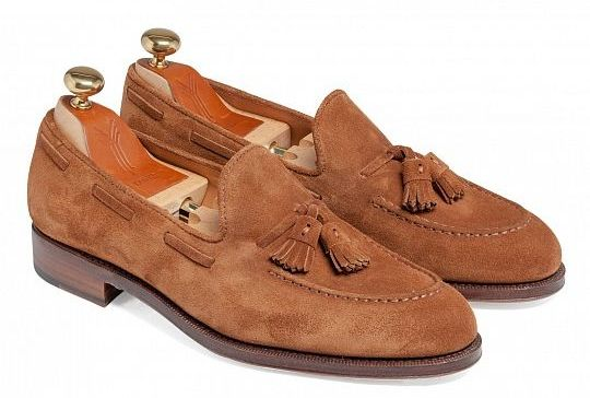 yanko loafers suede